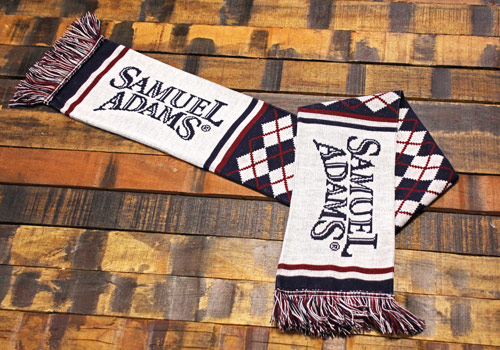 Sam Adams Logo Scarf