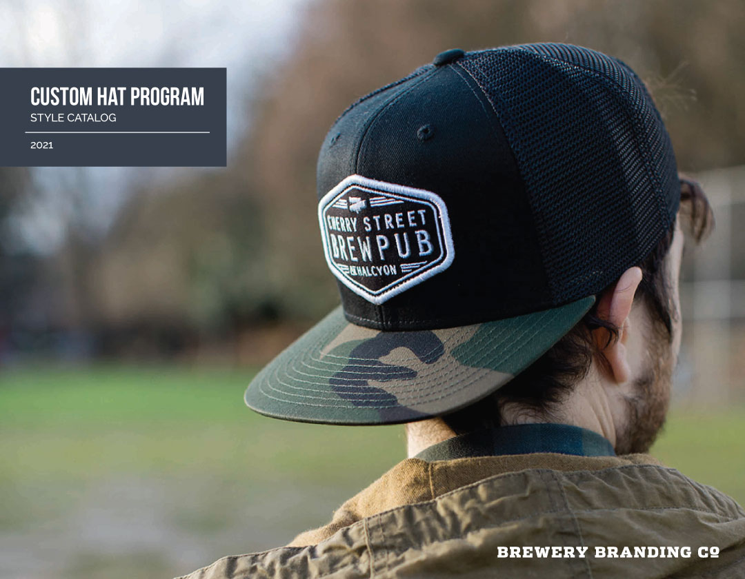 Brewery Branding Hat Catalog