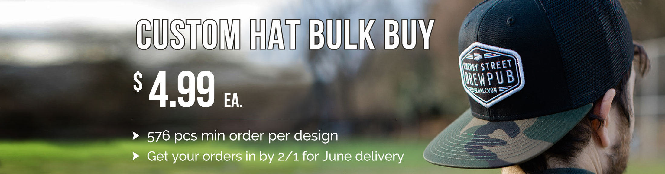 Summer Custom Hat Sale