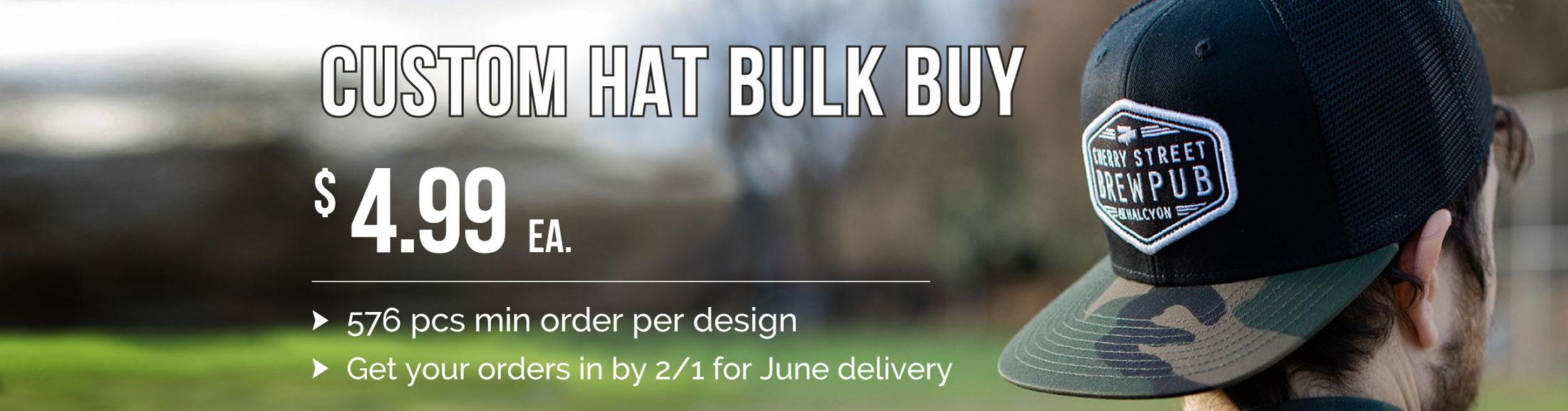 Summer Custom Hat Sale