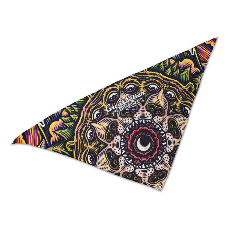 Triangle Sublimated Bandana
