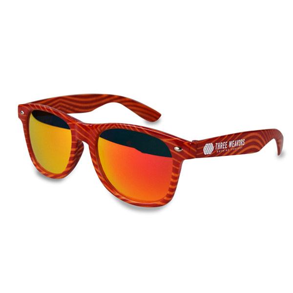 Full Custom Wrap Frame Sunglasses