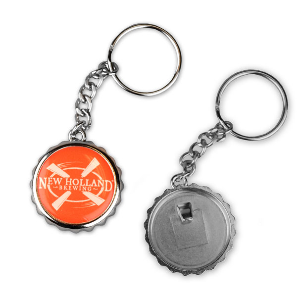 Bottle Cap Keychain Opener
