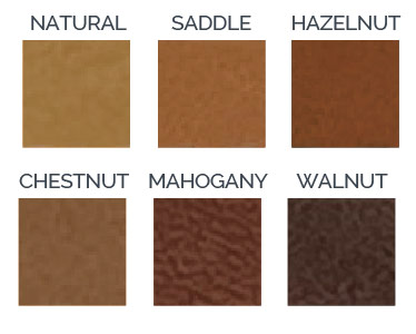 Real Leather Color Options