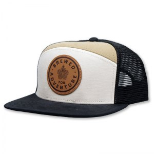 Hana Koa Leather Patch 7-Panel
