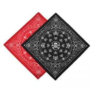 Boneyard custom pattern bandanas.