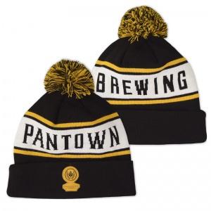 Pantown_Beanie_Knit_Black-White-Gold_800px
