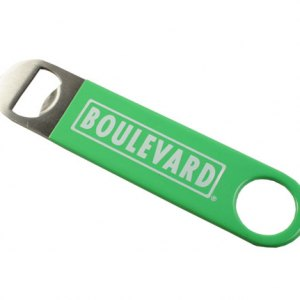 Boulevard green vinyl wrapped paddle opener
