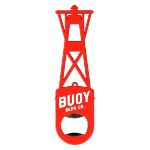 Buoy red powder coated custom shaped paddle opener