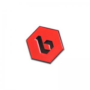 Bingo Beer soft enamel lapel pin.