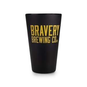 Bravery-Brewing_Rubber-Cup_Black_Front