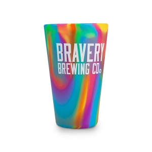 Bravery-Brewing_Rubber-Cup_Rainbow_Front