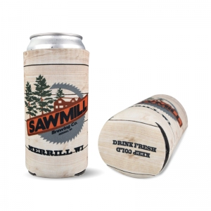 Sawmill full color sublimated 16oz coozie