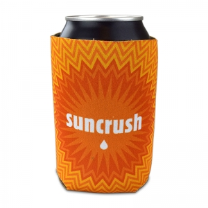 Suncrush full color sublimated coozie
