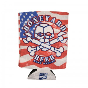 Boneyard full color sublimated foam coozie