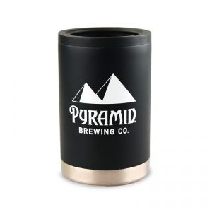 Pyramid stainless double wall  coozie.