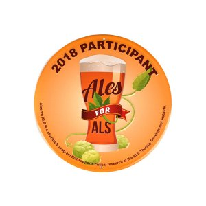 "Ales for ALS 12"" round full color tacker"