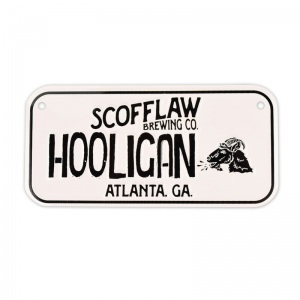 Scofflaw bike license plate tacker