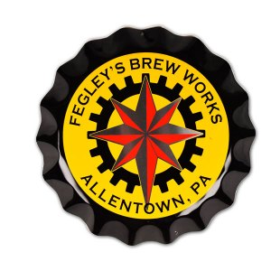 Fegley's Brew Works bottle cap tacker