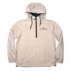 Valley Brewing 1/4 zip windbreaker