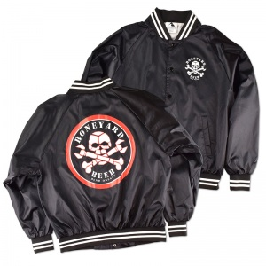 Boneyard screen printed coaches jacket.