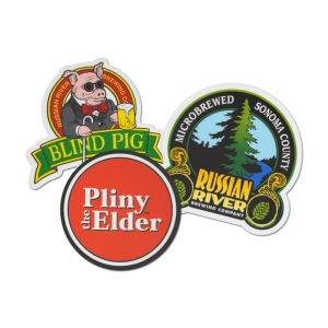 Russian River assorted vinyl stickers