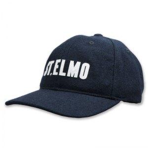 St. Elmo felt dad cap with applique letters