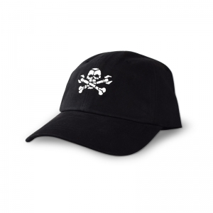 Boneyard embroidered black dad cap.