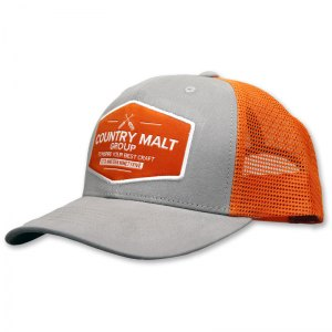 Country Malt patch trucker