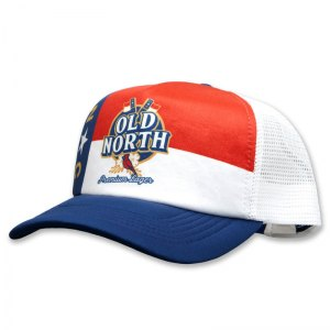 Old North sublimated foam trucker