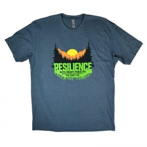 Sierra Nevada Resilience poly/cotton t-shirt.
