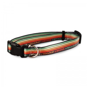 Breakside sublimated dog collars.