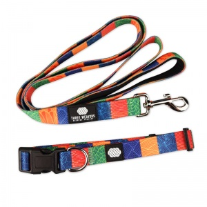 Three Weavers Leash and Collar