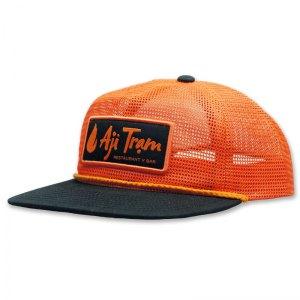 Aji Tram all mesh grandpa hat with patch