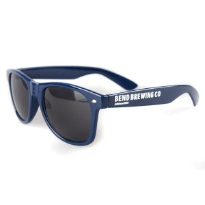 Bend Brewing navy sunglasses