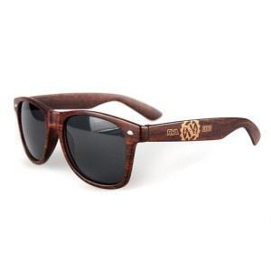 Strangeways wood frame sunglasses