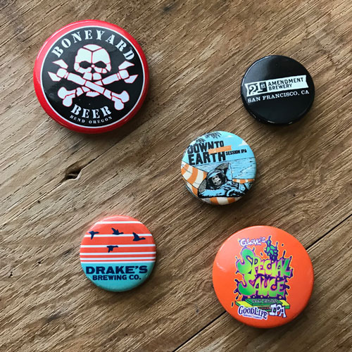 Branded Buttons